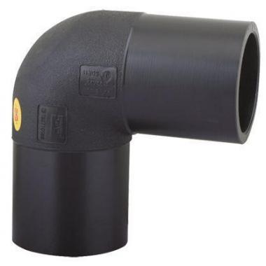 Отвод 90° 225 мм  ПЭ100 SDR17