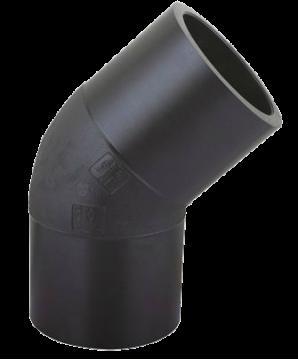 Отвод 45° 450 мм  ПЭ100 SDR17