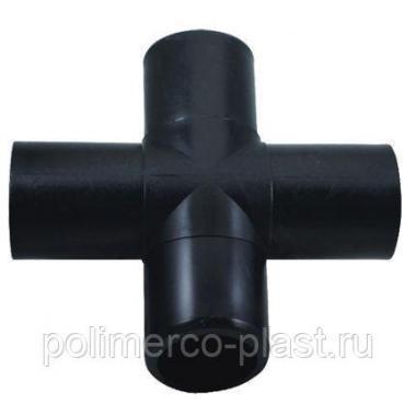 Крестовина литая 355 мм ПЭ100 SDR11