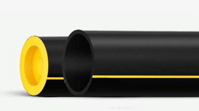 Трубы из полиэтилена для газопроводов ГОСТ Р 58121.2 SDR 9 500, 55.8