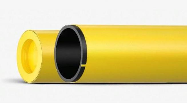 Труба полиэтиленовая серии ПРОТЕКТ для газопроводов SDR 17,6 110, 6.3